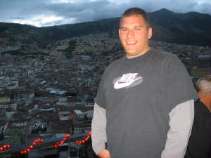 Perry Wesberry in Quito, Ecuador, Grandson of Jame