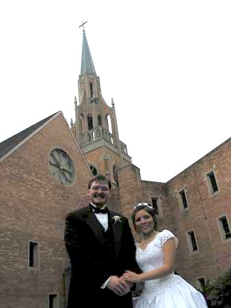 Wedding Day: Ruby Lee Wesberry and Joseph Russell